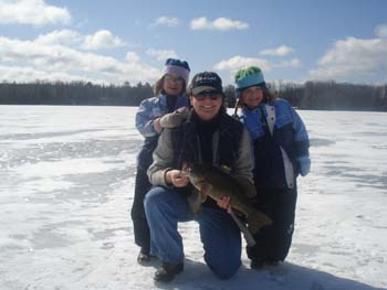 Wisconsin Guided Ice Fishing Trips