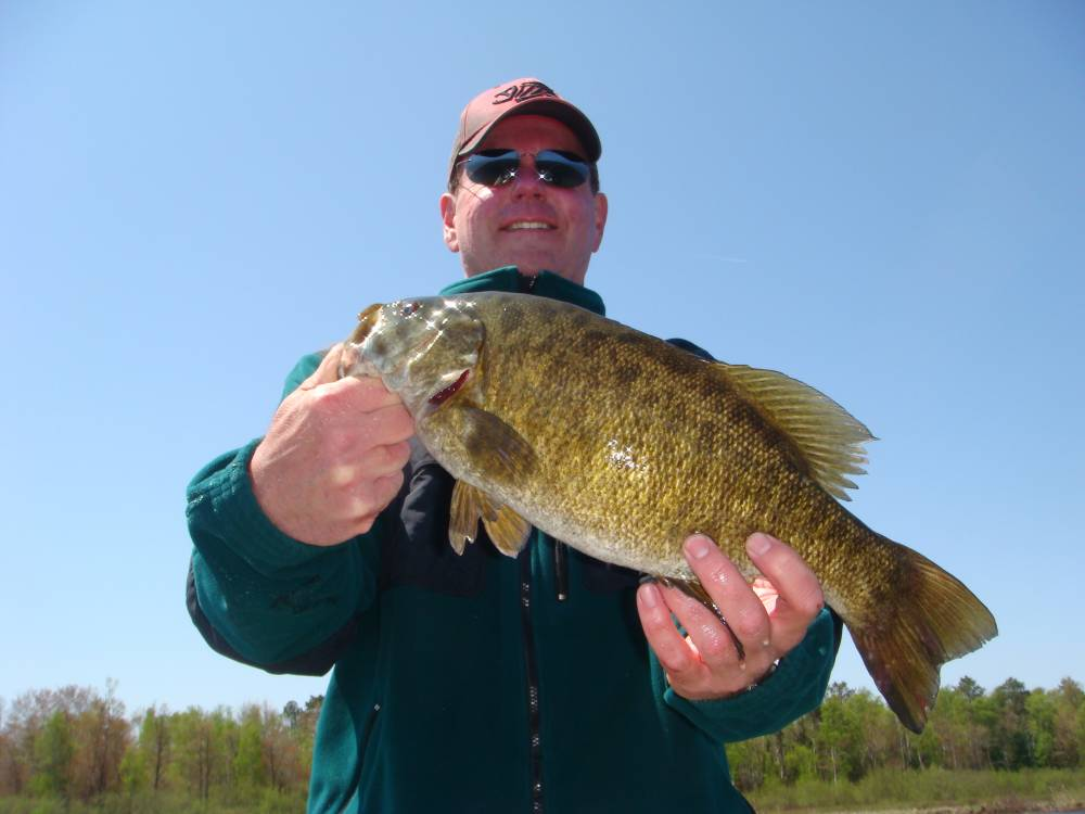 Smallmouth bass fishing guide mike best guide service for Bass fishing websites