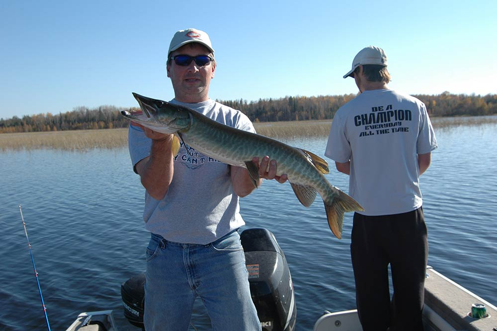 Mike best guiding hayward wisconsin fishing guide ice for Best fishing in wisconsin
