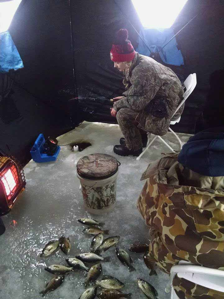 hayward wisconsin fishing guide ice fishing guide
