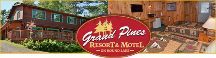 Lodging at Grand Pines Resort & Motel
