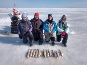 Northern Wisconsin Ice Fishing